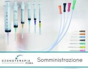 vie di somministrazione ozonoterapia tecniche